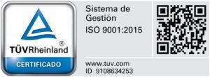 coscollola engineering ISO9001
